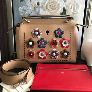 Authentic FENDI Flowerland Dot Com Bag